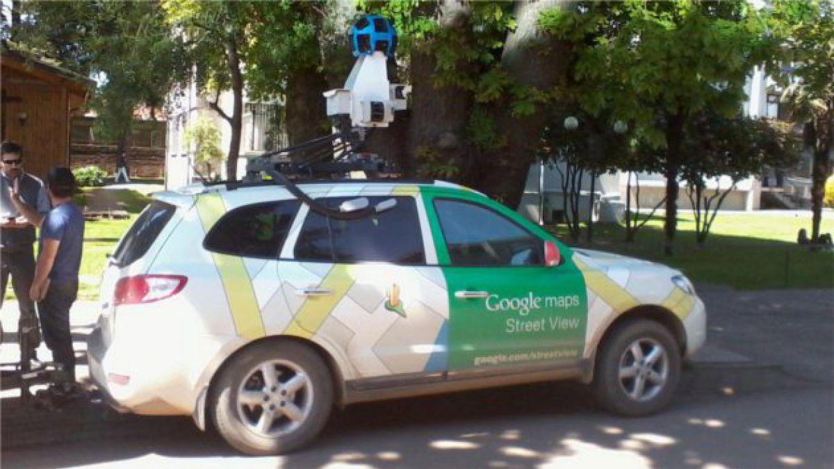 Google Street View registra las calles de Temuco