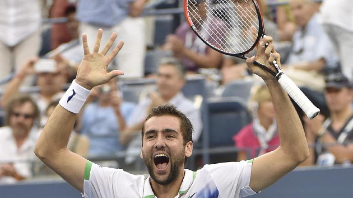 Cilic sepultó liderazgo de Federer y jugará final contra Nishikori