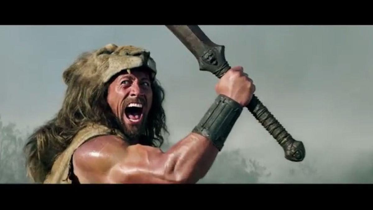 """Lanzan primer trailer de película donde """"La Roca"""" interpreta a Hércules"""