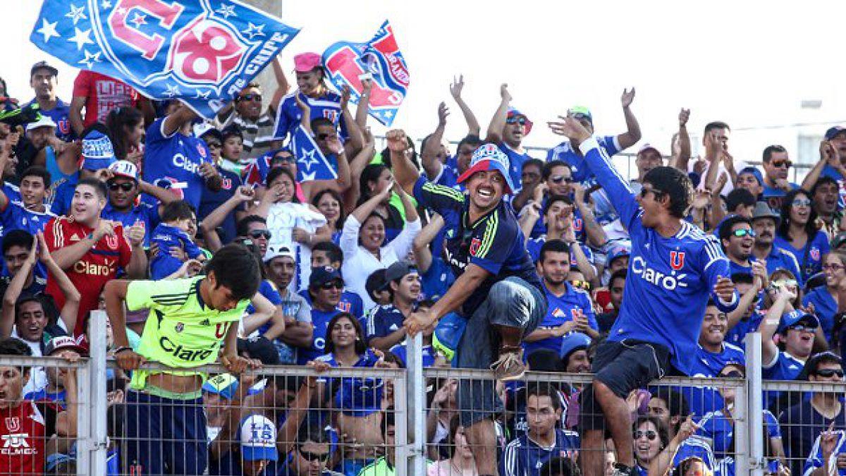 """La """"U"""" deja fuera de partido ante Defensor Sporting a 150 hinchas"""