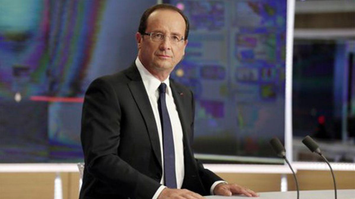Revelan supuesto affaire del presidente de Francia con actriz