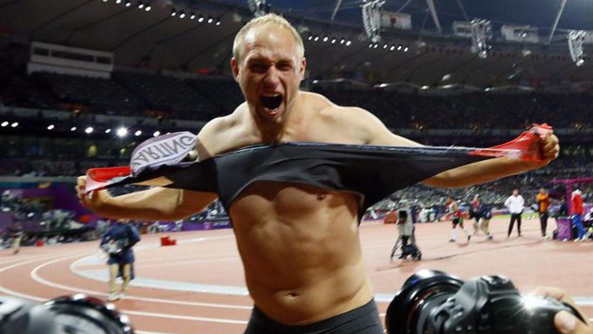 """[JJ.OO.] Alemán reacciona """"a lo Hulk"""" tras ganar prueba"""