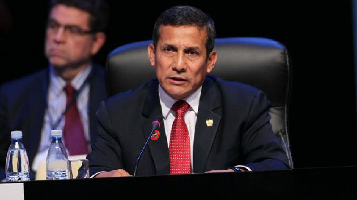 Ollanta Humala: Perú ha cerrado para siempre el capítulo de la delimitación de sus fronteras