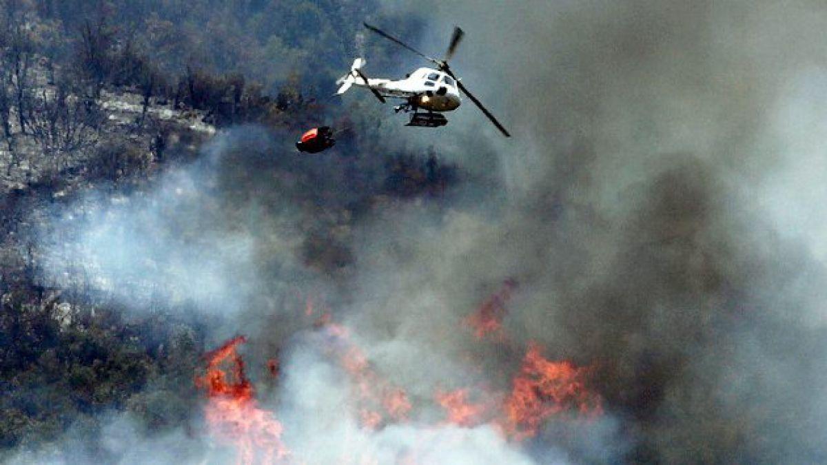 Incendios forestales: Hectáreas afectadas superan en un 155% al promedio