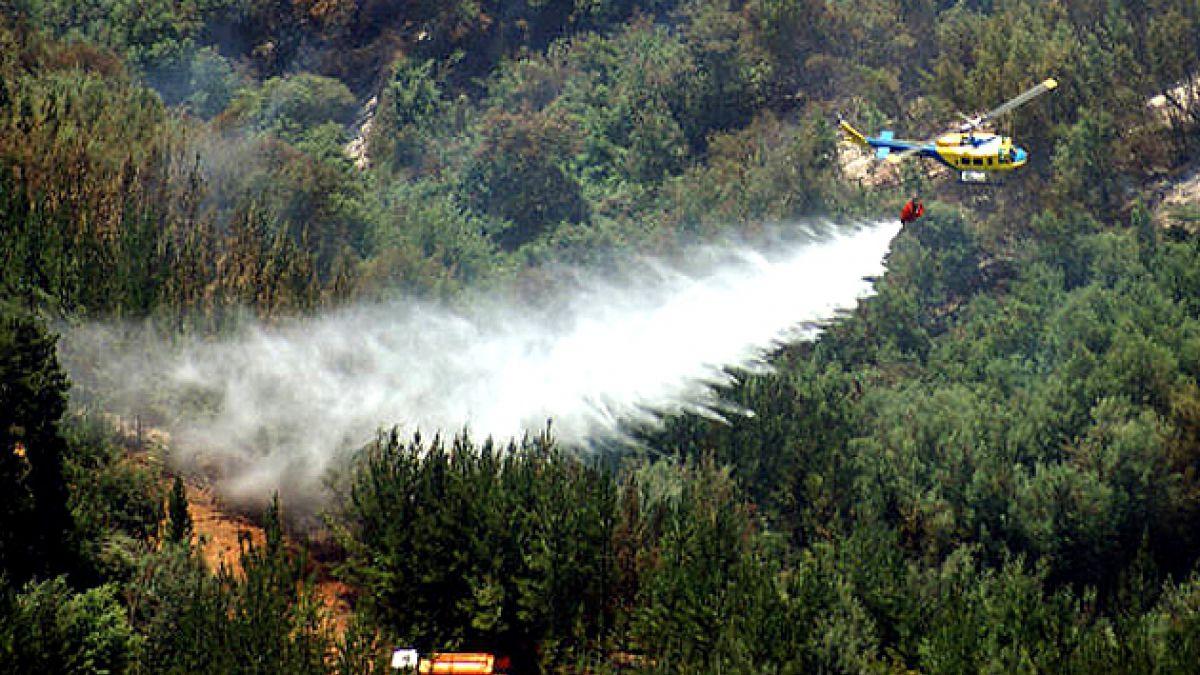 Declaran Alerta Roja en Región del Biobío por incendios forestales