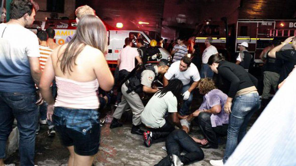 180 muertos deja incendio en discoteca de Brasil