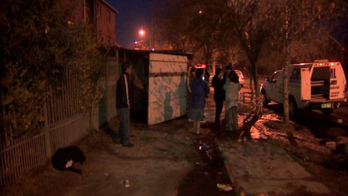 Incendio en La Pintana dejó un muerto