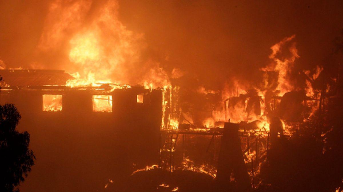 NASA libera imágenes satelitales de los daños causados por el incendio en Valparaíso