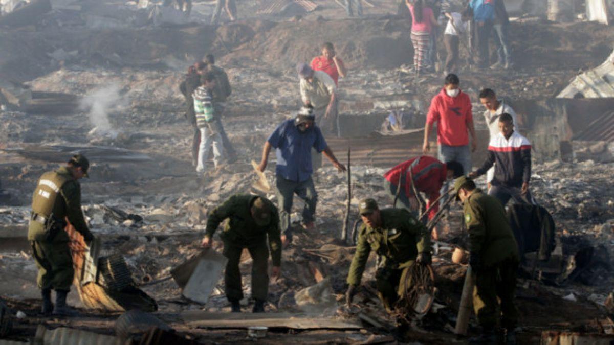Minuto a minuto: La lucha contra las llamas continúa en Valparaíso