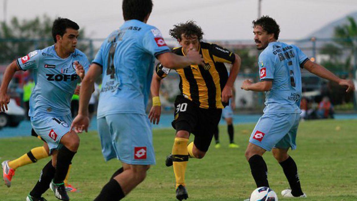 Iquique no pudo ante Peñarol en Copa Libertadores
