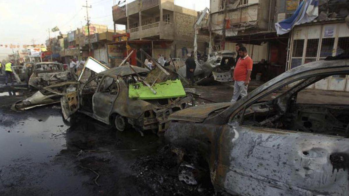 Explosión de autos bomba en Irak deja al menos 22 fallecidos
