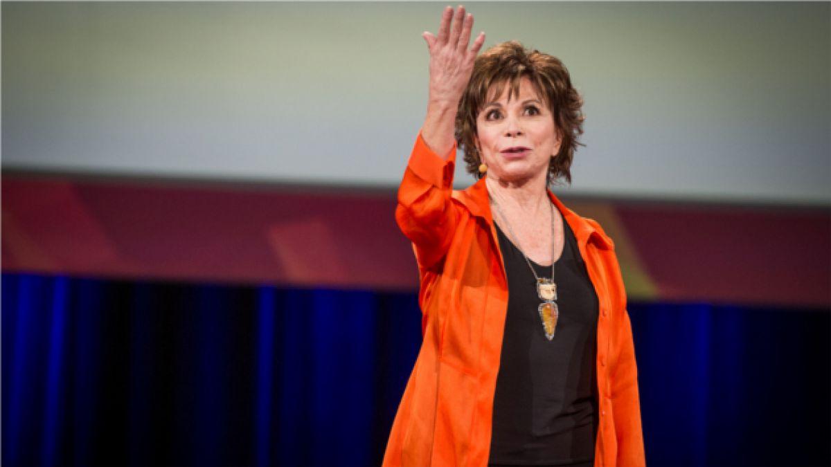 """Isabel Allende en TED 2014: """"La sociedad decide cuando somos viejos"""""""