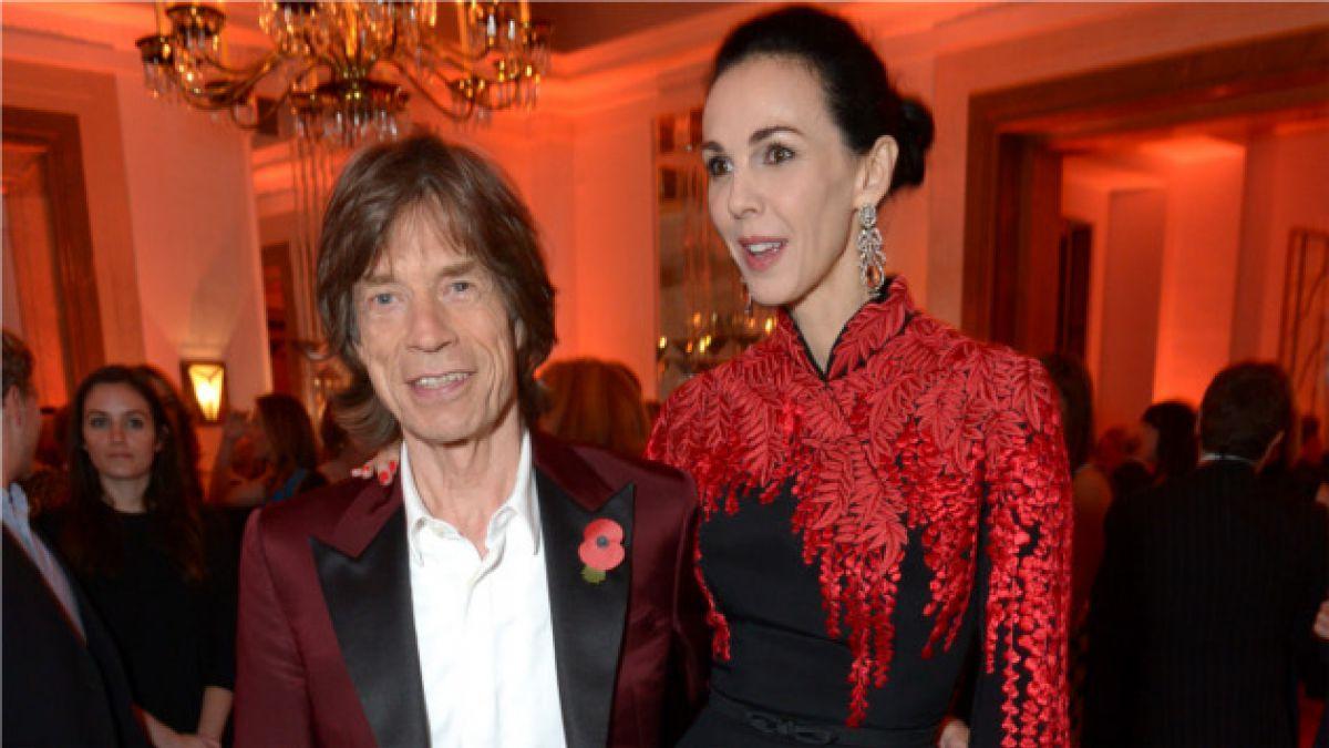 Mick Jagger es el único heredero de su fallecida pareja L'Wren Scott