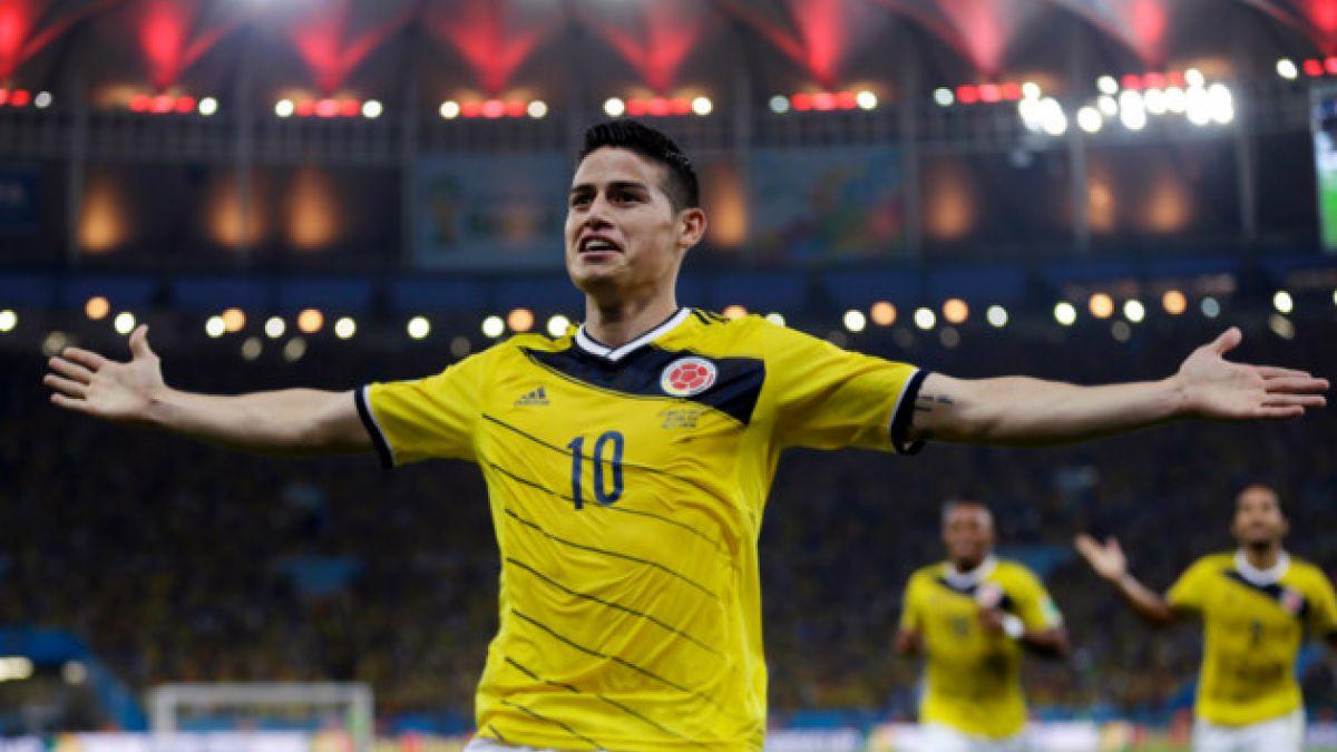 James Rodríguez lidera nómina definitiva de Colombia para Copa América Centenario
