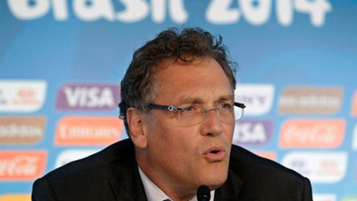 Investigadores piden 9 años de suspensión para Valcke, antiguo número 2 de la FIFA