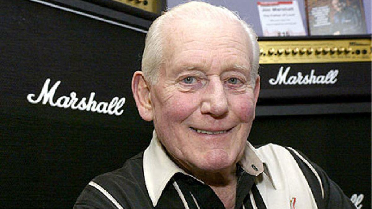 Murió Jim Marshall, el padre del ruido