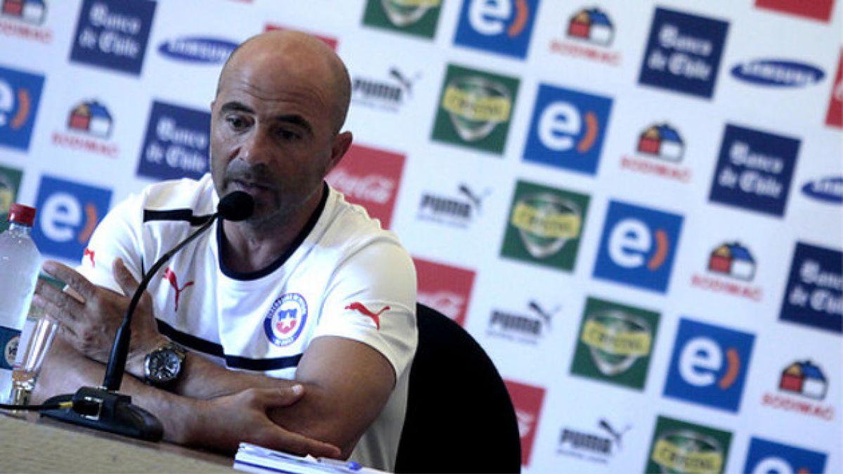 Sampaoli: Pensar que Chile es candidato en el Mundial es ilógico
