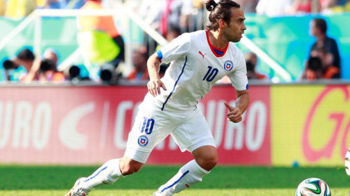Sampaoli evalúa no utilizar a Valdivia frente a España en el Mundial