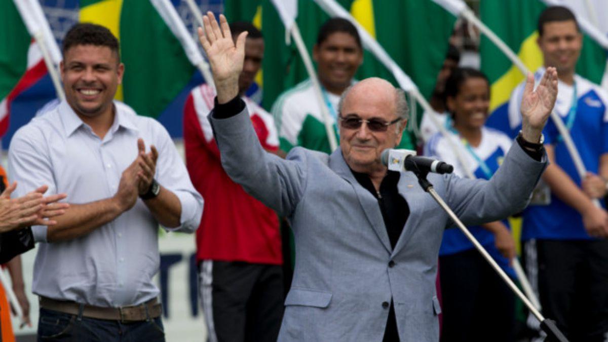 Joseph Blatter confirma que irá a la reelección como presidente de la FIFA