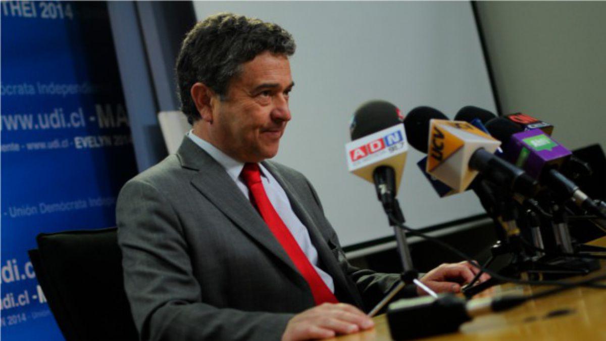 """Senador Coloma por sistema binominal: """"Le ha dado estabilidad al país"""""""