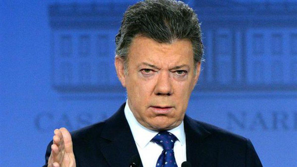 Juan Manuel Santos: Acuerdo con FARC implicaría cese al fuego inmediato