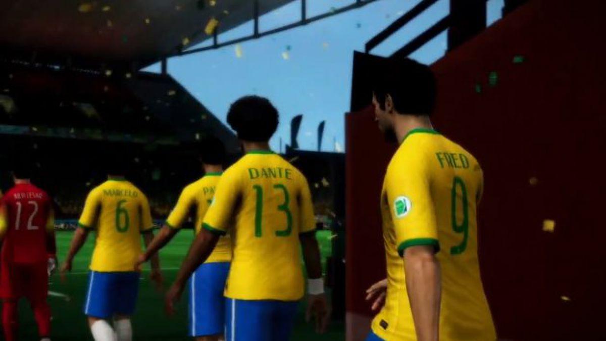 VIDEO: Nuevo trailer de videojuego Copa Mundial de la FIFA Brasil 2014