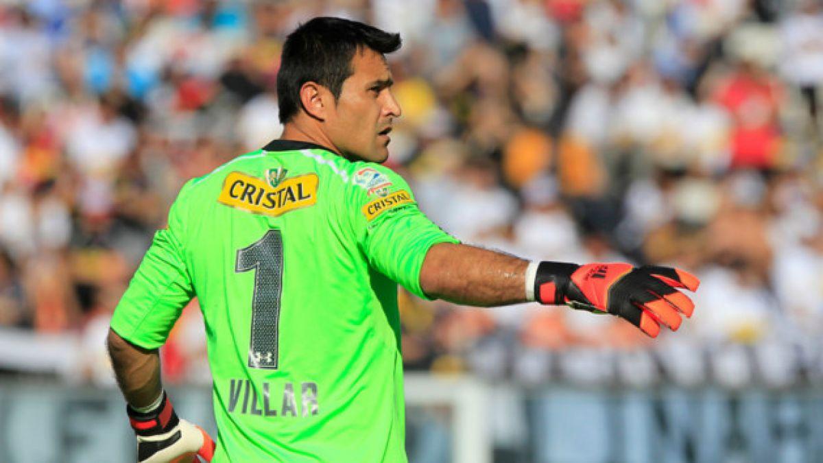 Desgarro deja a Justo Villar dos semanas fuera de Colo Colo