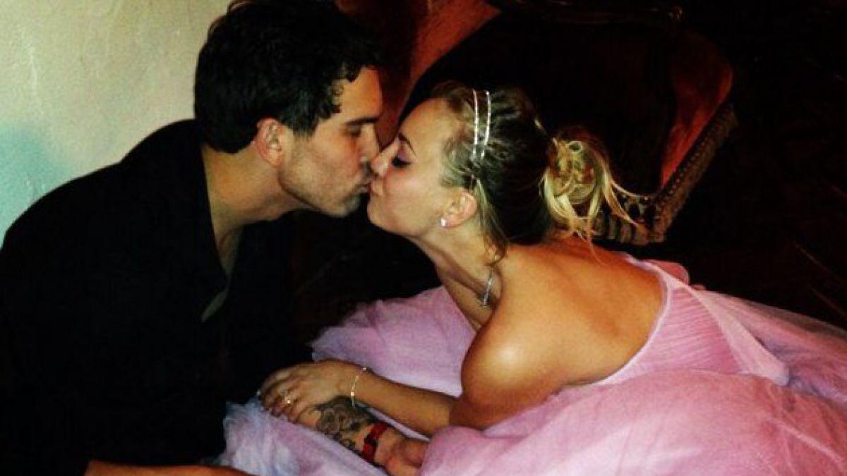 Protagonista de The Big Bang Theory se casó la noche de Año Nuevo