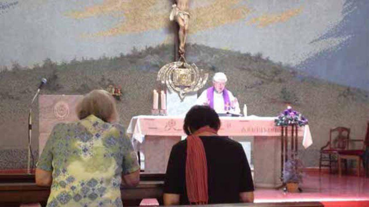 Divulgan imagen de Karadima haciendo misa
