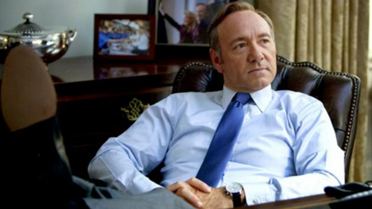 Kevin Spacey emula a Frank Underwood y realiza lobby ante congresistas por House of Cards