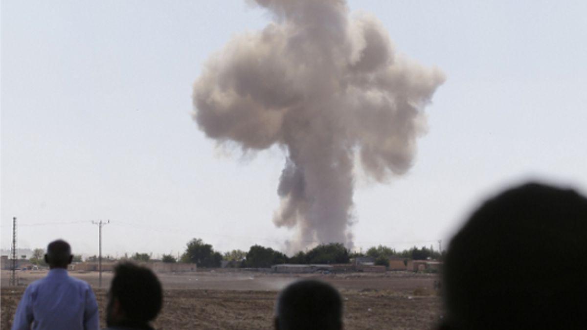 [VIDEO] La batalla por Kobane en registros divulgados por el Estado Islámico y fuerzas kurdas