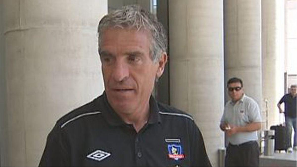 Omar Labruna ya pidió refuerzos para Colo Colo 2013