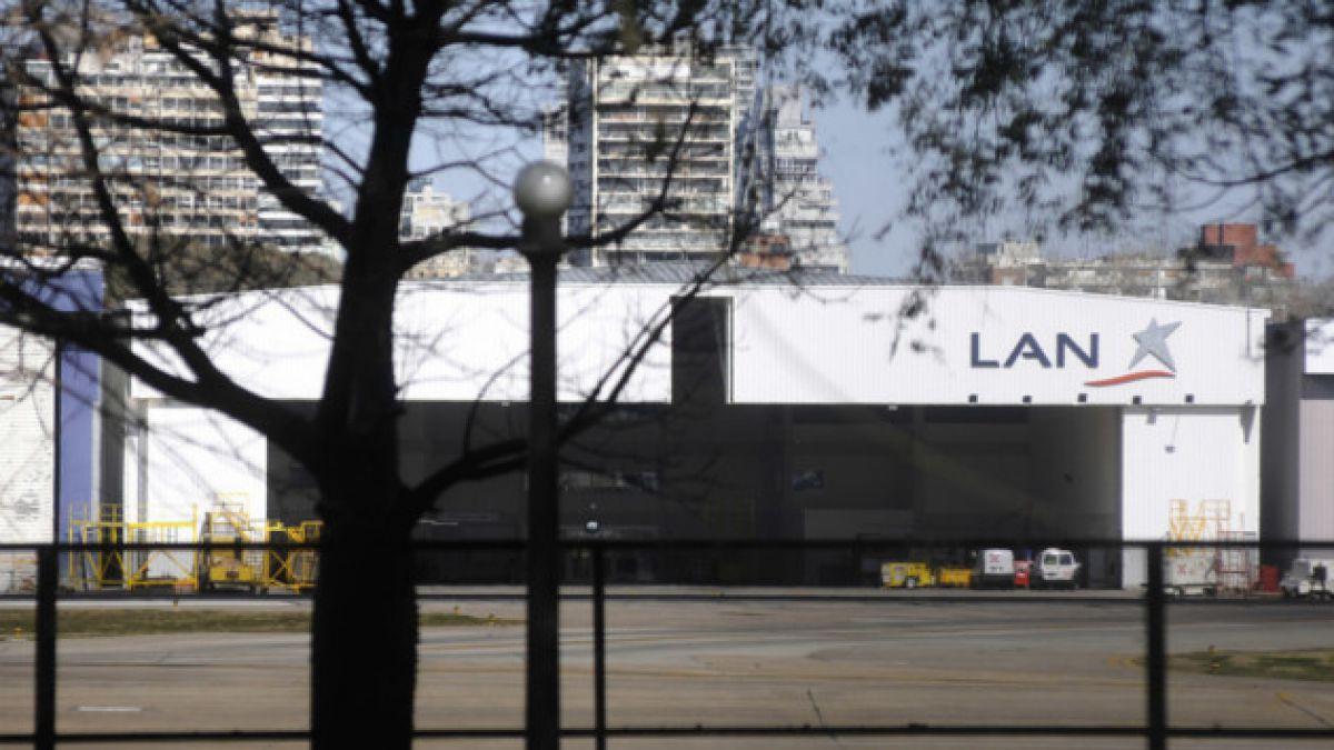 Rayo golpeó avión de LAN en Buenos Aires