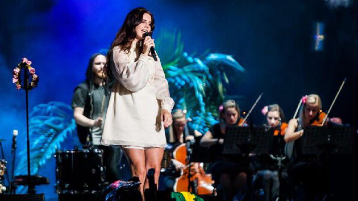 Lana del Rey debuta este martes en Chile