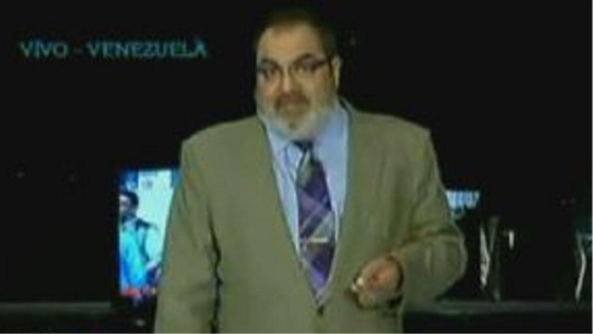 Polémico periodista denunció retención ilegal en Venezuela