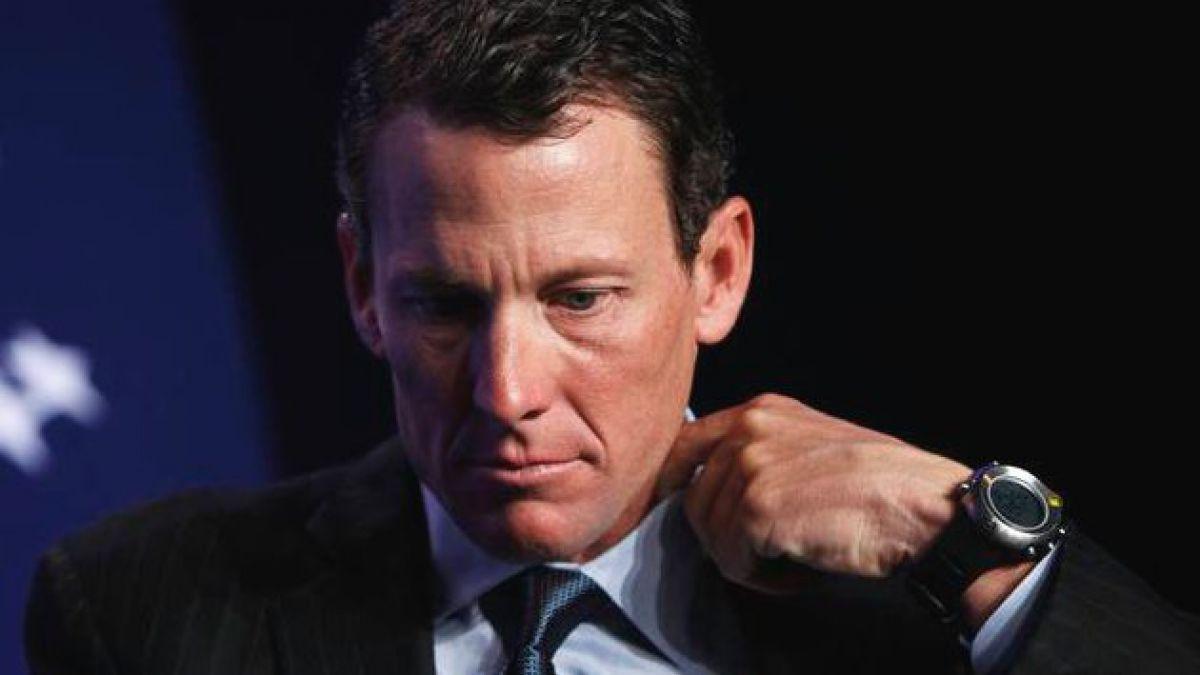 Lance Armstrong habría admitido dopaje