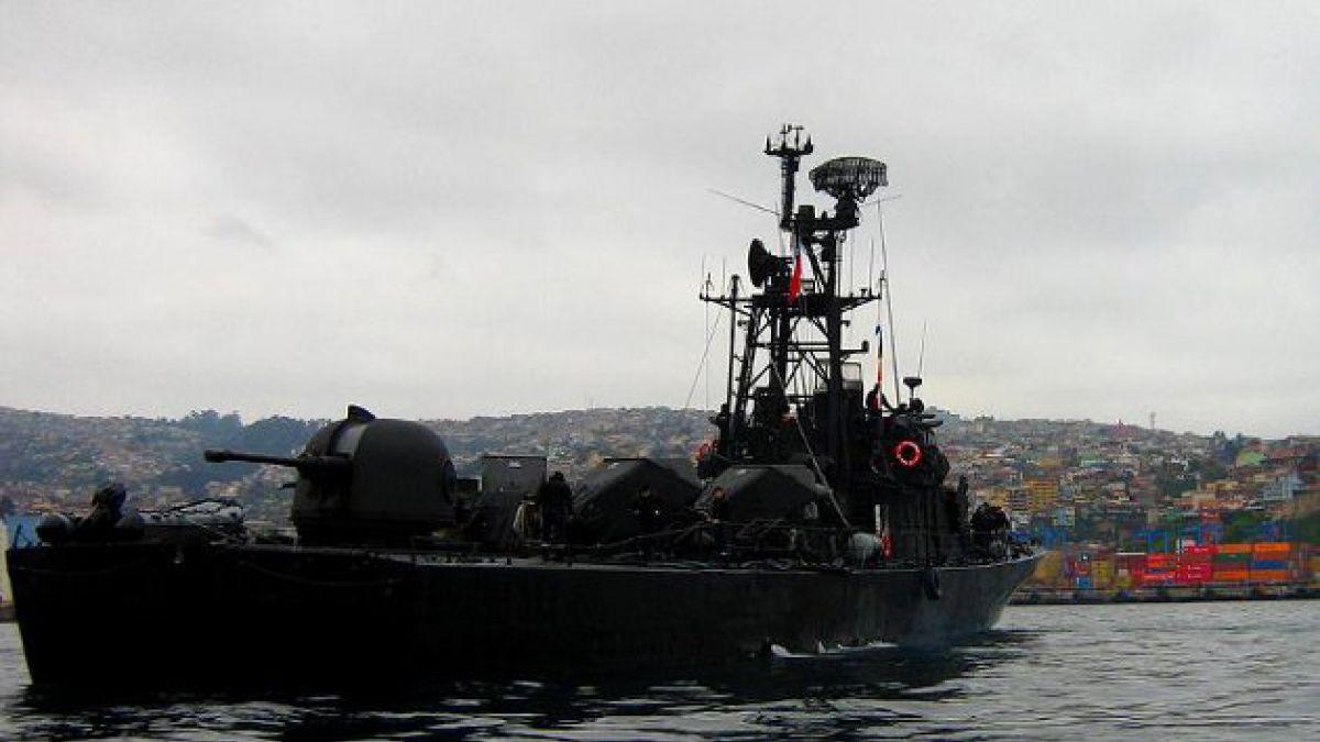 Armada indagará colisión naviera ocurrida en Iquique