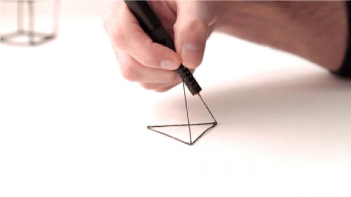 VIDEO: El lapiz que escribe en 3D y en el aire