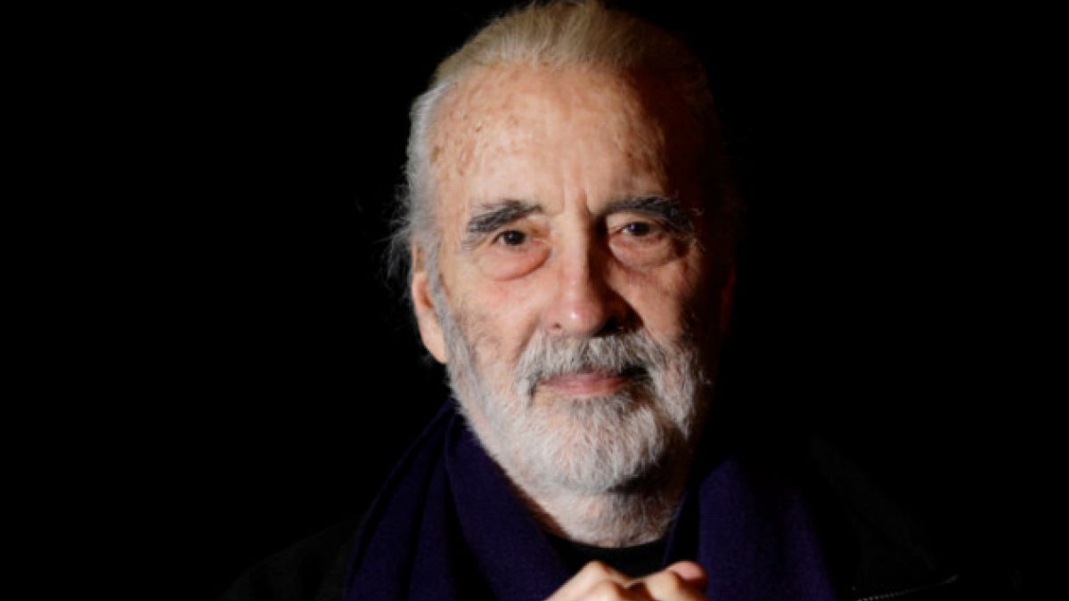 Christopher Lee celebra sus 92 años con álbum de heavy metal