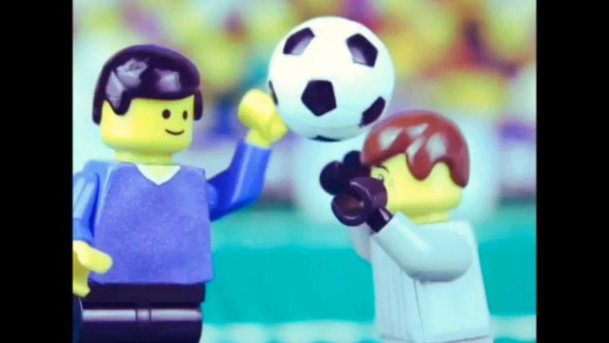 VIDEO: La polémica mano de Dios en versión Lego