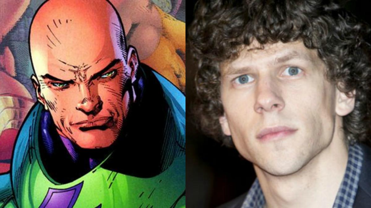 Revelan que Lex Luthor no será calvo en película que juntará a Batman con Superman