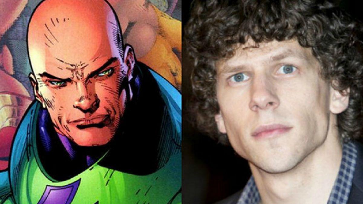 """Batman v Superman"": Jesse Eisenberg juega al misterio con su Lex Luthor"