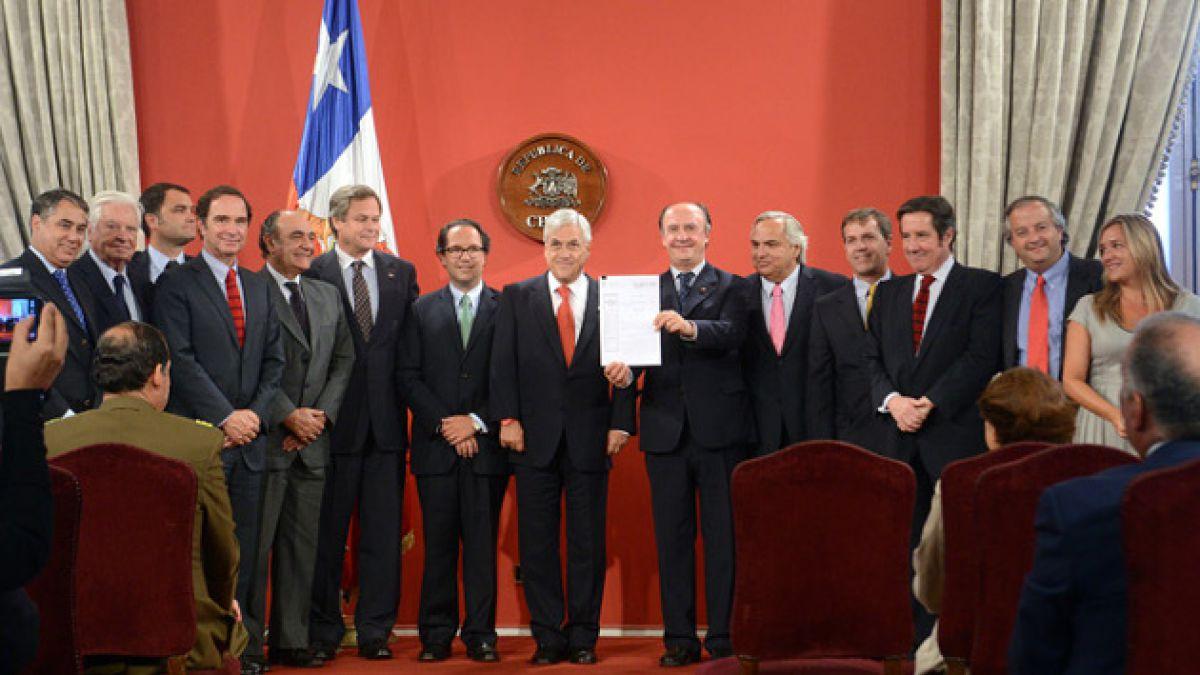 Presidente Piñera promulga Ley del lobby