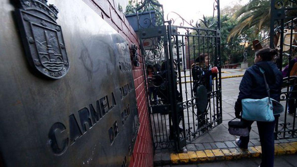 Alumnas del Liceo Carmela Carvajal deciden deponer toma