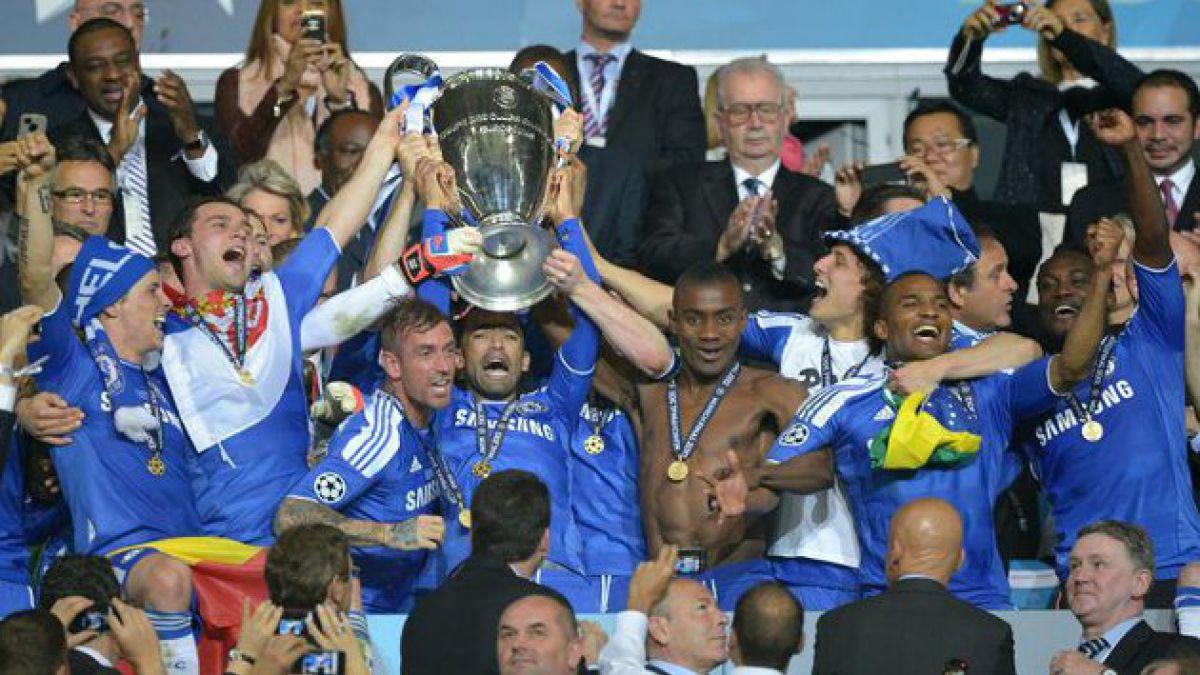 Chelsea ganó la Liga de Campeones