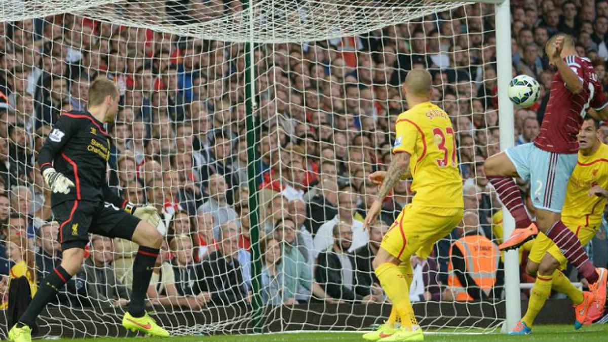 El Liverpool se hunde ante el West Ham perdiendo su tercer partido en liga