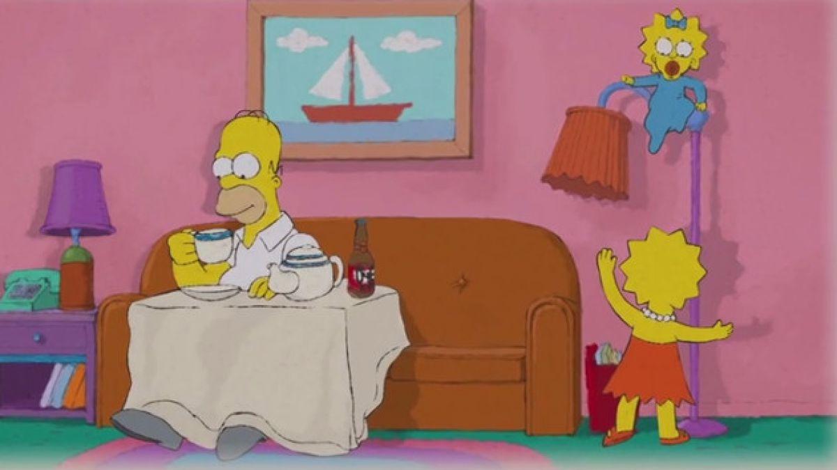 """[VIDEO] """"Los Simpson"""" hacen parodia de Cat Stevens en apertura de último episodio"""