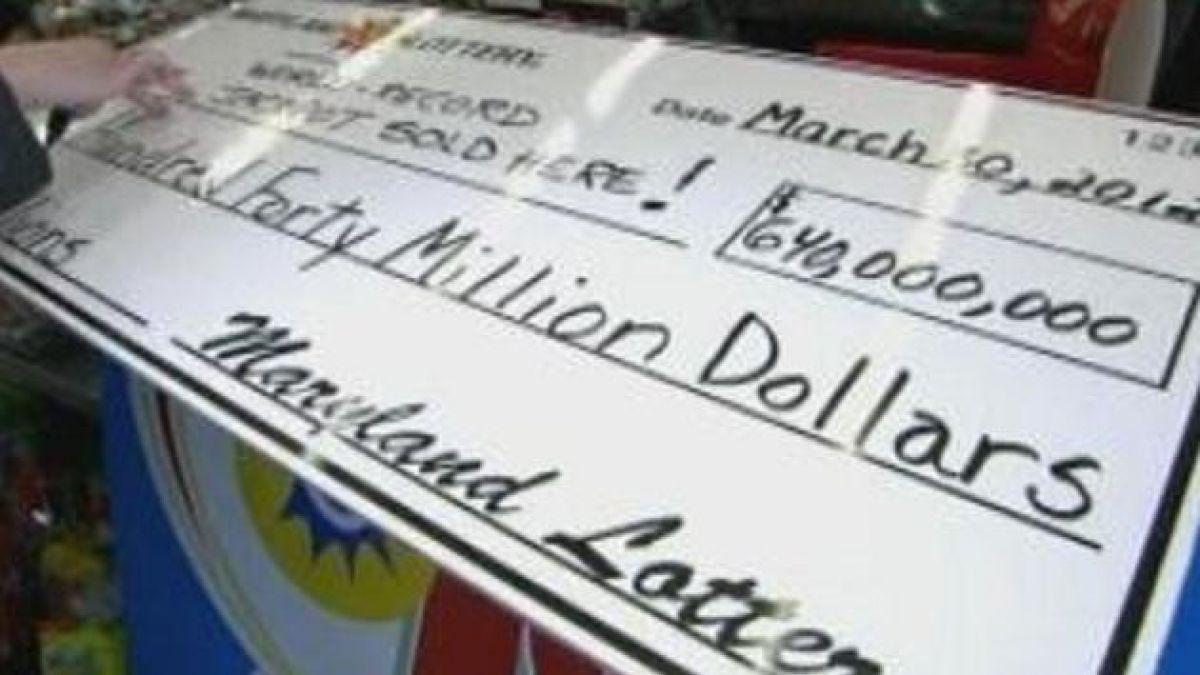 EE.UU.: Un ganador obtuvo 640 millones de dólares en la lotería