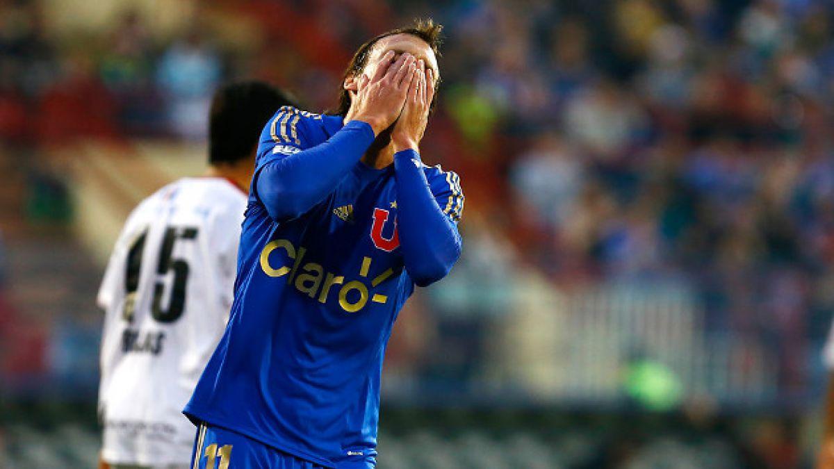 Hinchas de la U en picada contra Luciano Civelli