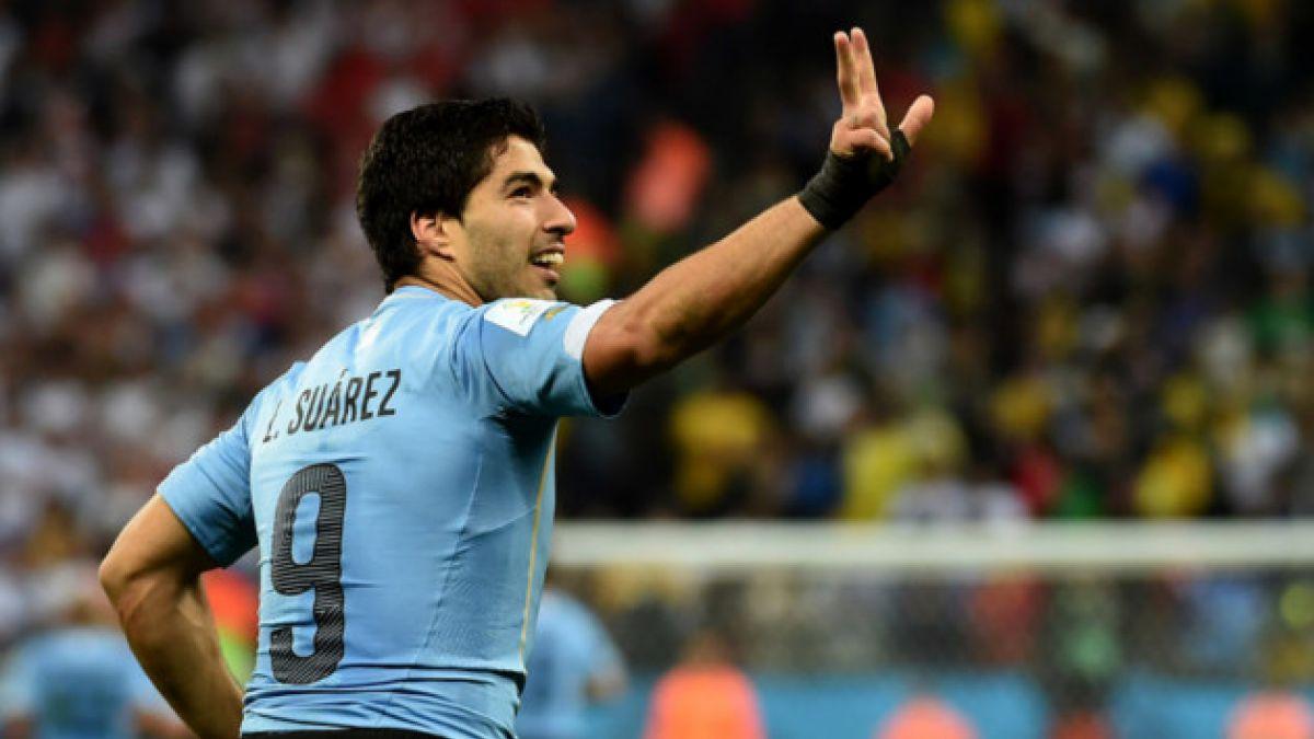 Uruguay confía en que Luis Suárez llegará al Mundial
